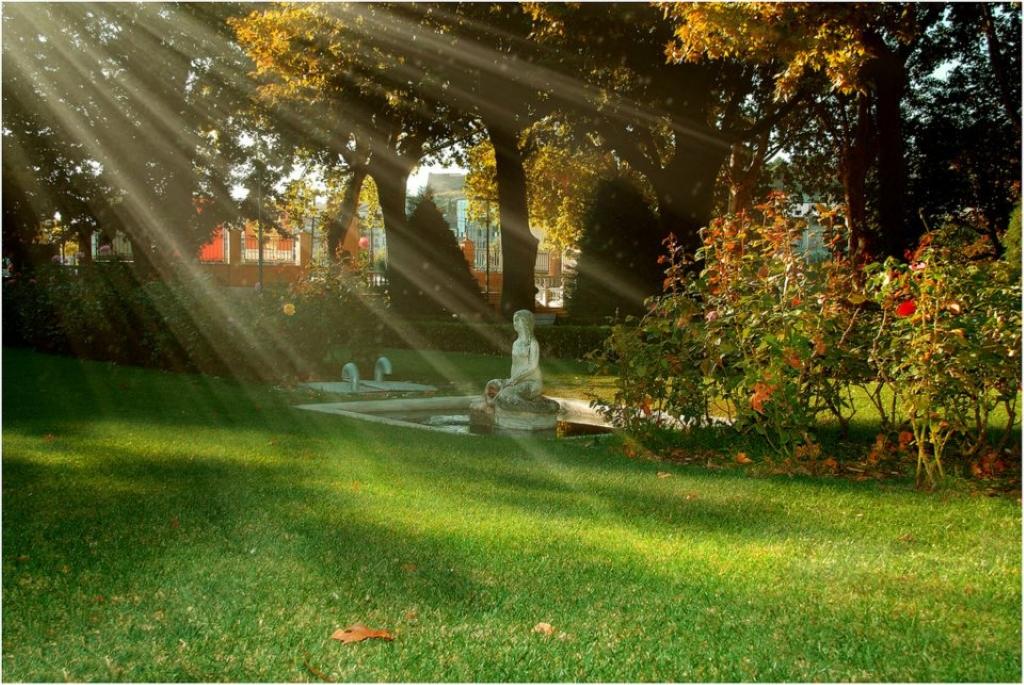Parque de los campos eliseos en lleida parque municipal for Jardines eliseos
